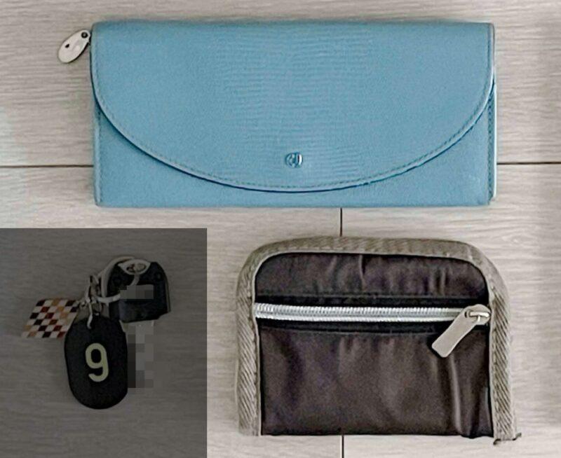 長財布と折りたたみ財布